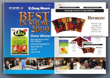 TPCC: The Winner - BEST IN SHOW 2009 Report on ANZFTA Flexo Magazine Christmas 2009